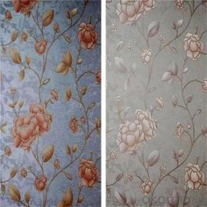 New Arrival Mildewproof Bedroom Floral Non-Woven Wallpaper