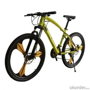 Mountain Bike Three Knife One Wheel Bicycle 26 Inch 21 Speed High Carbon Steel Sports Bicycle