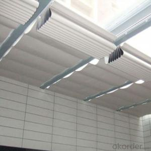 PVC ceiling curtain with dustproof for window