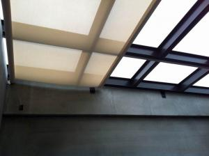 Manual mechanism electric roller blinds and curtains