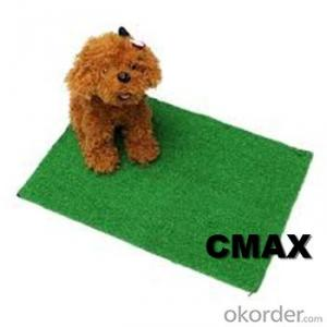 Pet artificial grass green carpets fire resistant artificial grass