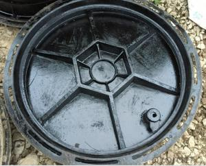 Ductile Iron Manhole Cover with EN124 C250 in China
