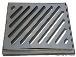 EN 214 ductile iron manhole cover with high quality
