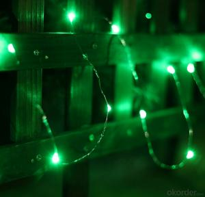 Colorful Copper Wire Led Light String for Outdoor Indoor Stage Holiday Party Decoration