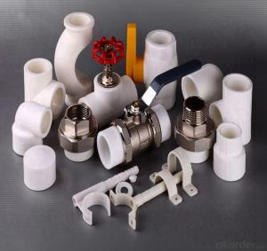 PPR Pipe Fittings For Hot And Cold Drinking Water