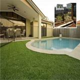Artificial Grass for Viewing and Ornament