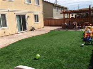 fake grass garden residential artificial grass china  supplier garden lawn