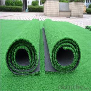 Artificial turf for the baseball field