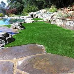 Low priced short garden artificial grass