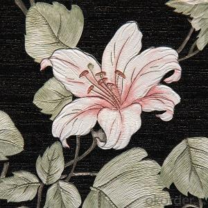 Home Decoration Printable Wallpaper Flower Wallpaper With Best Price