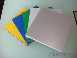 PVC foam board high gloss for decorations