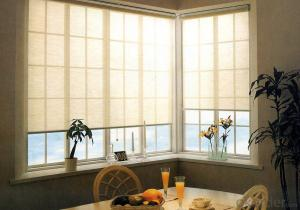 Motorized Blackout and Sunscreen fabric roller blind