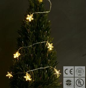 New White Star Led String Lights for Outdoor Indoor Christmas Wedding Decoration