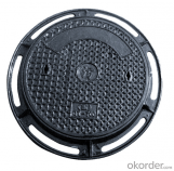 Ductile Iron Manhole Cover with High Quality for Industry