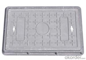 Ductile Iron Manhole Cover of Square or Round