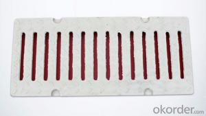 Ductile Iron Square Manhole Cover and Frame with EN124