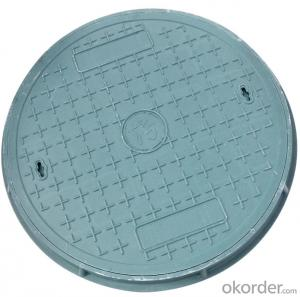 Ductile Iron Manhole Cover C250 with New Style