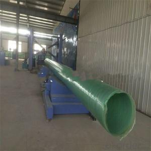FRP pipe Maintenance free and Low friction coefficient  for sales