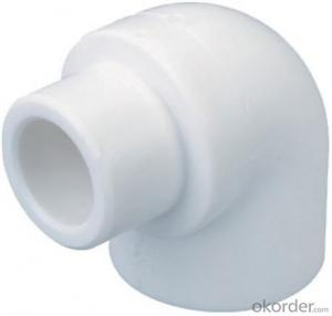 PPR Elbow for Hot and Cold Water Conveyance with Safety Guaranty from China Factory