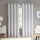 China supplier white window curtain for bedroom design