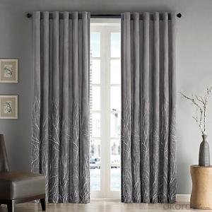 motor fabric curtain with metal track for window design