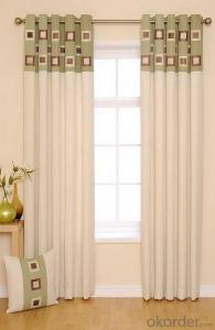 China supplier modern single curtain with good quality