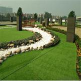 Simulation Lawn Artificial Plastic Grass Green  Turf Simulation Lawn For Leisure Land Decoration