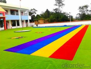 35-40MM  Lawn for Leisure Land Decoration Artificial Plastic grass