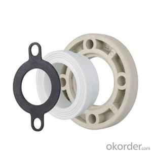Flange Set(PPR+Plastic+Gasket seal) with Superior Quality Made in China