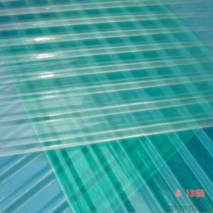 FRP Corrugated Plastic Roofing Custom Design Roof