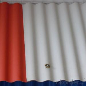 Fiberglass Corrugated Roofing Sheet Used in Construction