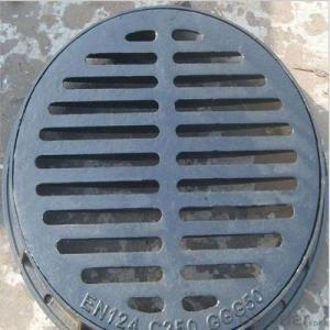 Ductile Cast Iron Manhole Cover with Easy Installation Round or Square