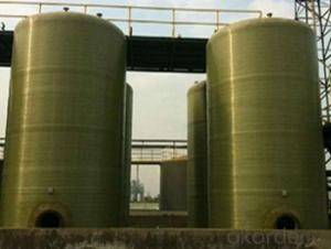 FRP  tanks  and  vessels High mechanical inertness