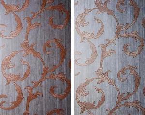 wholesale 3d china hotel modern stripe self adhesive wallpaper