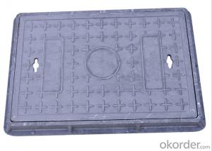 Ductile Iron Manhole Cover C250 with New Style in China