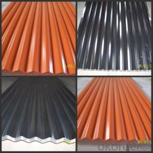 Frp Corrugated Roofing Color Coated Metal Roof