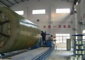 FRP Composite Pipes making machine for sale round pipe with high quality