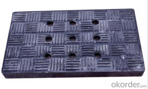 Ductile Iron Manhole Cover of Grey with High Quality for Construction