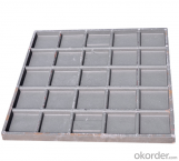 Ductile Iron Manhole Cover with Hinges EN124