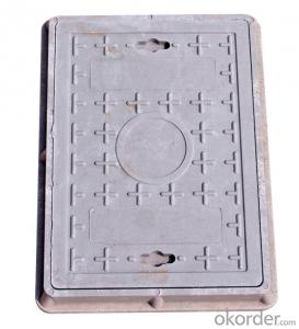 Ductile Iron Manhole Cover with New Style in Square and Round