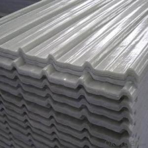 Fiberglass Reinforced Plastic FRP Flat Roofing Sheet