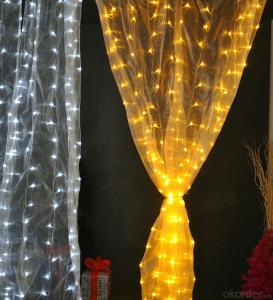 Curtain Light Vintage Style for Outdoor Indoor Wedding Festival Christmas Decoration