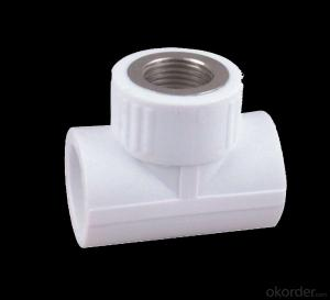 PVC Equal Tee Fittings Used in Industrial Fields Made in China Factory