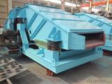ZK linear vibrating screen for mining ore