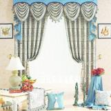 Electric and waterproof roller blind and curtains with zipper