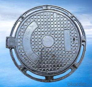 Ductile Iron Manhole Cover with Heavy Duty Made by Professional Manufacturer