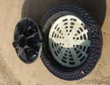 Ductile Iron Manhole Cover of Grey for Industry in China