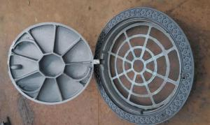 Ductile Iron Manhole Cover with High Quality  in Square and Round