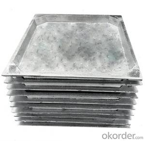 Ductile Iron Manhole Cover of Grey  for Construction
