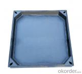 Ductile Iron Manhole Cover EN124 Standard for Construction